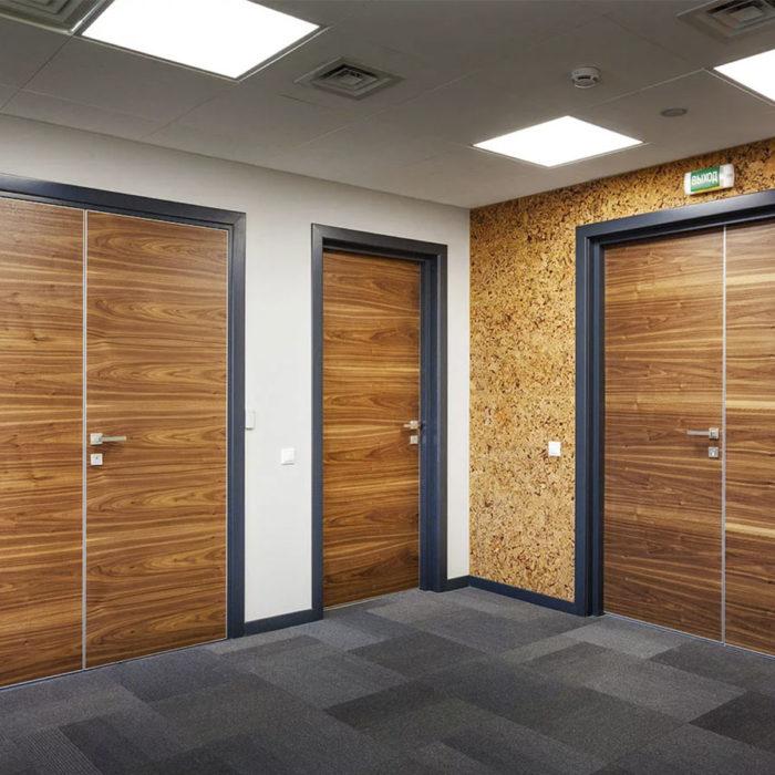 Как выбрать двери в офис