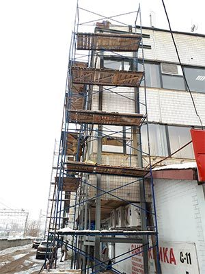 Усиление фасада здания - Компания Ремстрой | +7 (495) 740-81-83