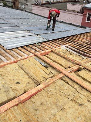 Монтаж профлиста на крышу в Москве - Компания Ремстрой | +7 (495) 740-81-83