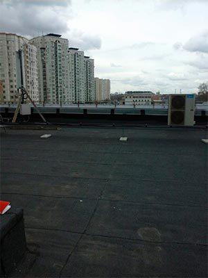 Ремонт мягкой кровли на крыше многоэтажного дома в Москве - Компания Ремстрой | +7 (495) 740-81-83