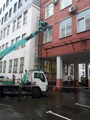 Установка пожарной лестницы - Компания Ремстрой | +7 (495) 740-81-83